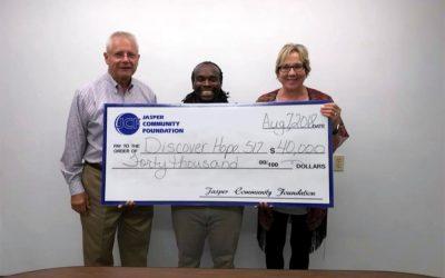 Jasper Community Foundation Grant